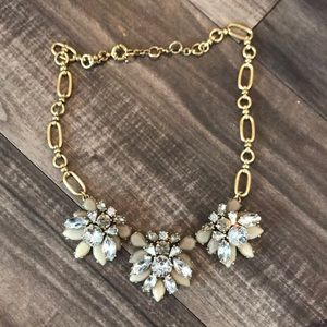 J. Crew Gemstone Statement Necklace